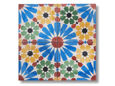 Encaustic Tile- Monaco