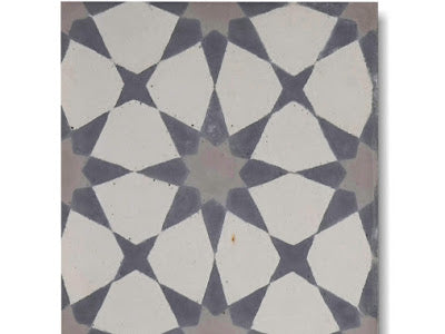 Encaustic Tile- Starburst