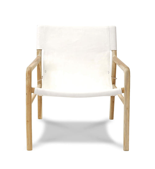 Brooklyn Sling Back Chair-White
