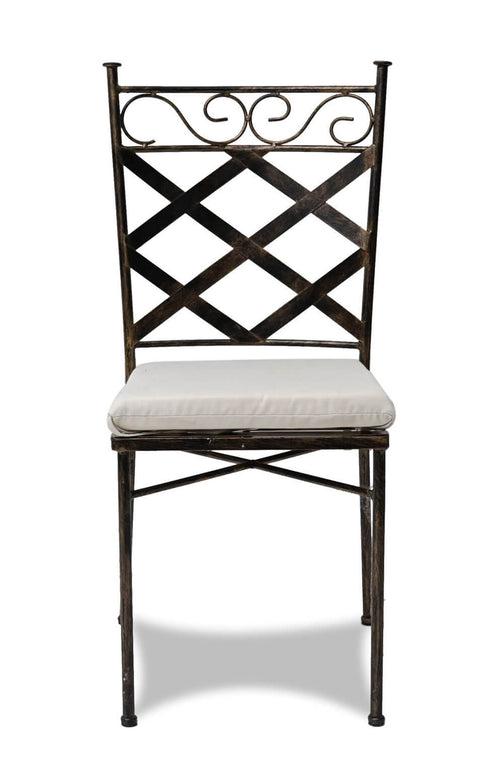 Wrought Iron Chair