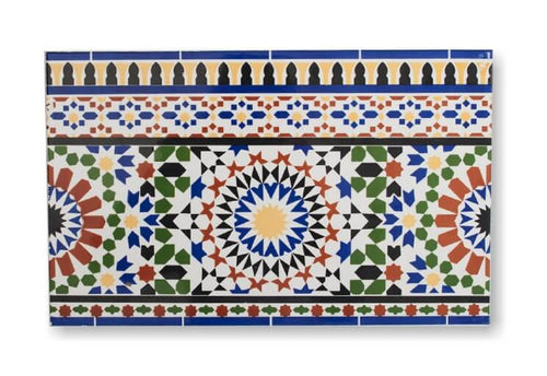 Moorish Border Tile