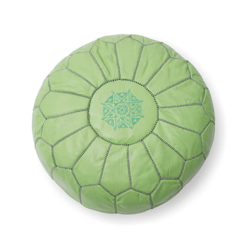 Parachute Ottoman–Light Green