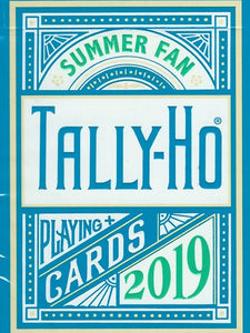 Tally Ho Summer Fan Back