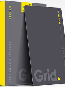 Grid Typography Series - 3 deck set