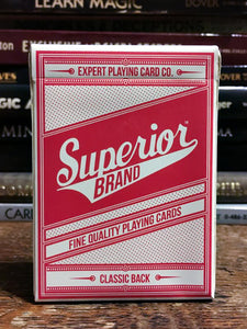 Superior Brand Classic Back Red
