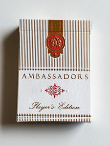 Ambassadors Player's Edition Red (opened)