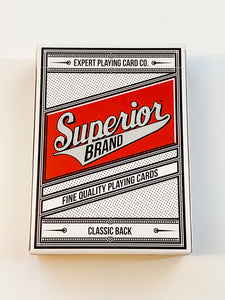 Superior Brand Classic Back Red (opened)