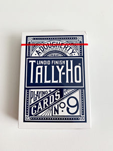 Tally Ho Original Circle Back Blue (minor tuck damage)