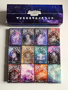 Constellation Collection 12 Decks (opened)