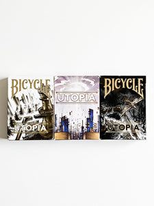 Utopia Branded and Unbranded 3 Deck Bundle (opened)