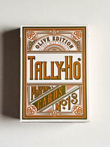 Tally-Ho Olive Edition (opened)