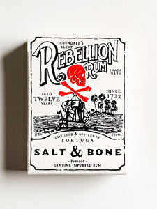 Rebellion Rum (opened)
