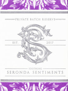 Apothecary Seronda Sentiments White Label Lavender Gilded