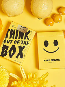Keep Smiling V2 Yellow