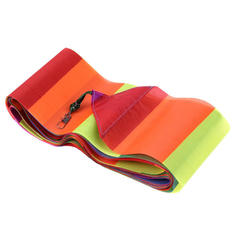 10 Meters Rainbow Bar Kite Tail for Delta Kite Stunt Outdoor Fun Sports Kite Accessories