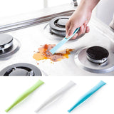 18 x 2.7 x 1cm Kitchen Bathroom Stove Dirt Decontamination Scraper Opener kitchen tools cleaning accessories #303