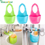 Home Kitchen Organizer Sink Hanging Strainer Basket Sponge Holder Storage Gadget Rack Soap Shelf Basket Kitchen Accessories Tool