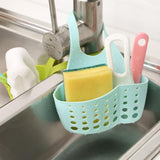 Kitchen Sponge Drain Holder PVC Plastic Sponge Storage Rack Basket Wash Cloth Bathroom Soap Shelf Organizer