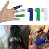 Pet Finger Toothbrush Dog Cat Tartar Teeth Cleaner Grooming Tools for Puppy Cat Kitten Toothbrush Dog Accessories