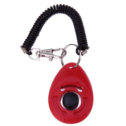 Pet Dogs Clicker Adjustable Sound Key Chain Pets Puppy Dog Training Clicker Pet Trainings Products Dog Accessories 5 Colors