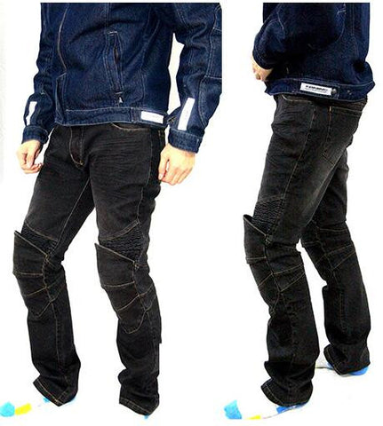 Originally motorcycle pants off road / Motorcycle racing pants / trousers Knight motorcycle protective clothing. jeans
