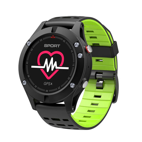 F5 Smart Watch Bluetooth 4.2 Smart Bracelet Heart Rate Monitor Sleep Monitoring IP67 Waterproof GPS Smart Sports Watch