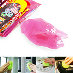 Keyboard Cleaning Compound Gel Transparent Cleaner Keyboard Magic Cyber Laptop Cleaning Tool Kit Sponge Hot Sale High Quality