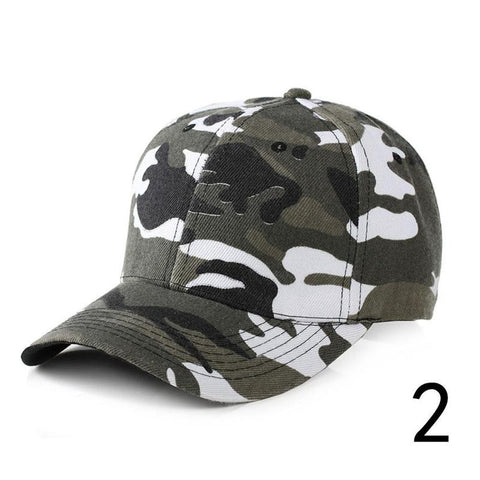 Hot Men Hip Hop Dancer Outdoor Camouflage Baseball Snapback Head Sports Cap Hats