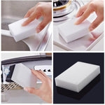 10pcs Cleaning Magic Sponge Eraser Melamine Cleaner Multi functional Foam