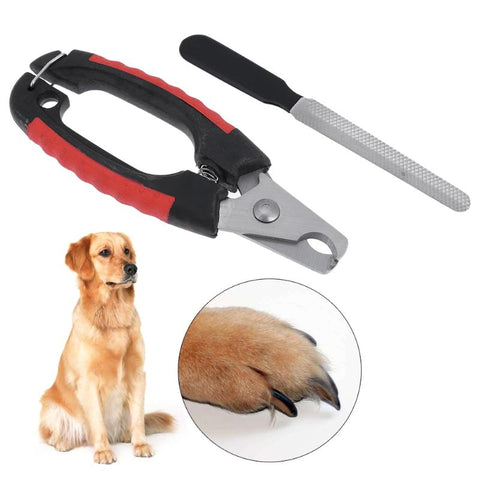 Pet Nail Clipper Scissors Dog Cats Toe Claw Cutter Clippers for Dog Cats Animal Grooming Nailclippers with File Pet Products