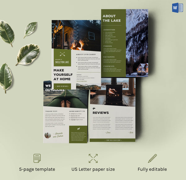 home rental templates