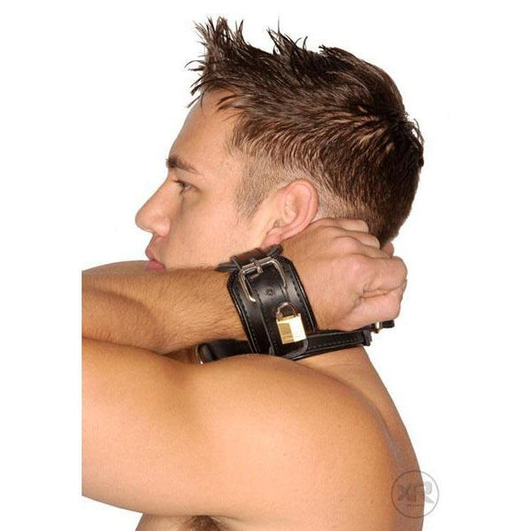 Strict Leather Wrist-to-Neck Restraint
