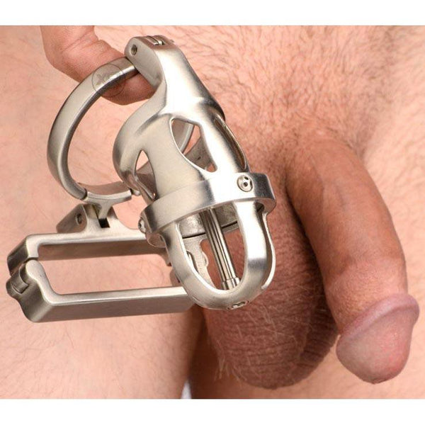 Master Series Deluxe Chastity Cage