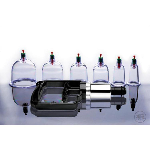 Sukshen 6 Piece Cupping Set with Acu-Points
