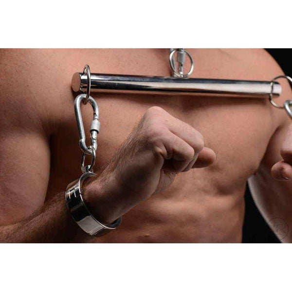 Stainless Steel Yoke with Collar and Cuffs