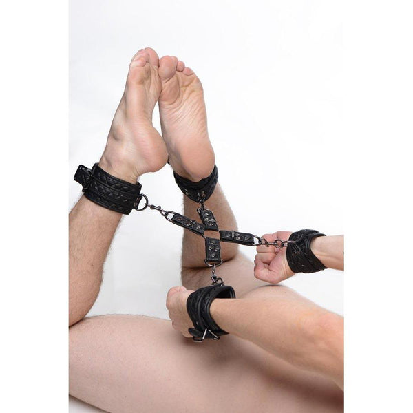 Concede Wrist and Ankle Restraint Set With Bonus Hog-Tie Adaptor