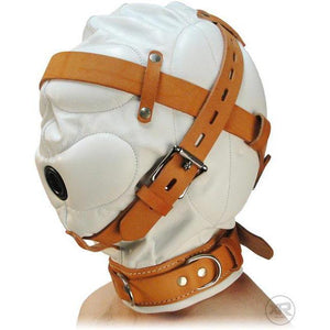 Leather Total Sensory Deprivation Hood