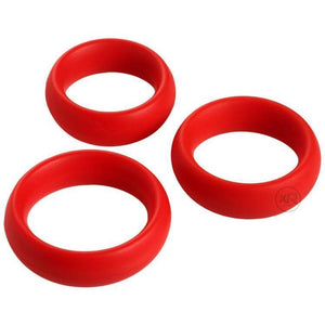 Fat Silicone Cock Ring 3-Pack