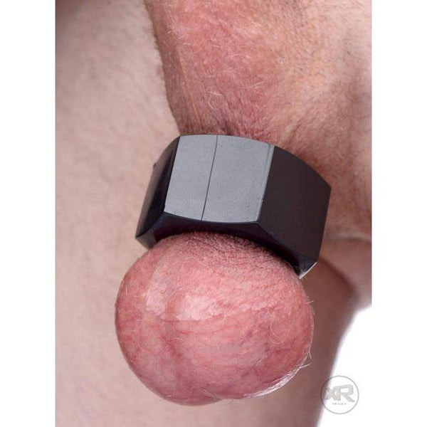 Hex Heavy-Duty Cock Ring and Ball Stretcher