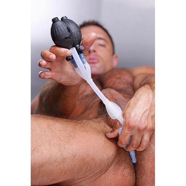 The CleanStream Silicone Inflatable Double Bulb System