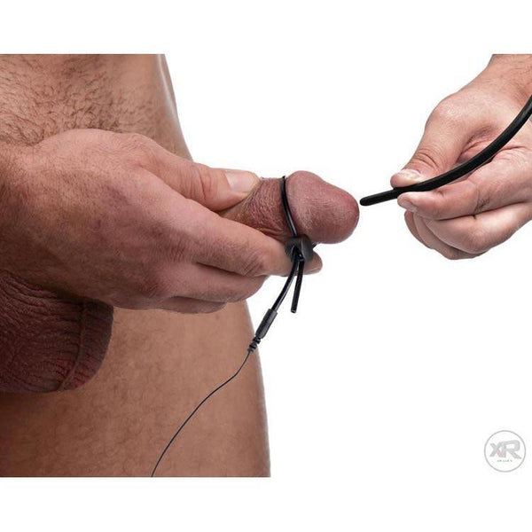 Jolted Cock and Ball Strap with Penis Stim