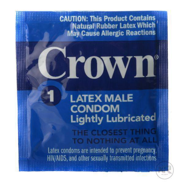 Crown Condoms 24 and 100 packs