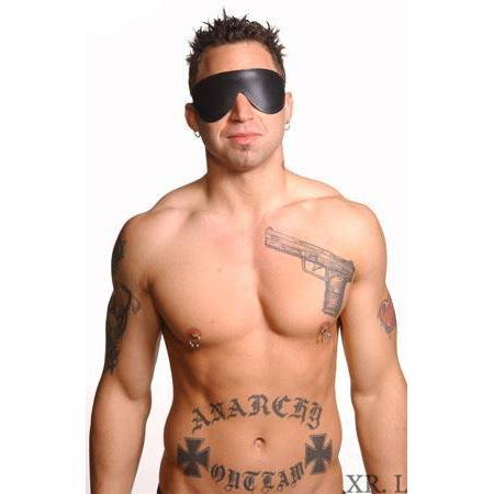 Strict Leather Padded Blindfold