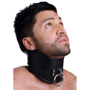 Strict Leather Lockable Posture Collar