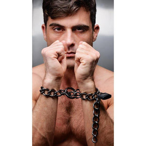 Tom of Finland Locking Chain Cuffs