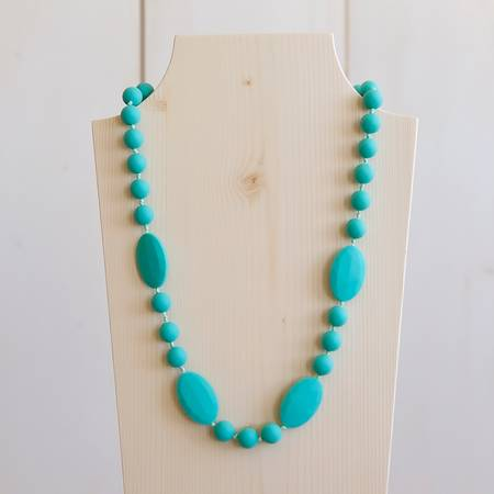 Teething Necklace - Turquoise