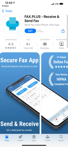 How to send fax from iPhone for free