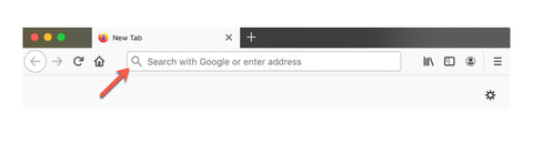 What dose firefox uses as a search engine ?