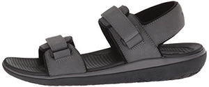 206 Collective Men's Greenlake Double Band Velcro Sandal - Shoes Direct