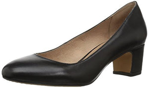 206 Collective Women's Merritt Round Toe Block Heel Low Pump - Shoes Direct